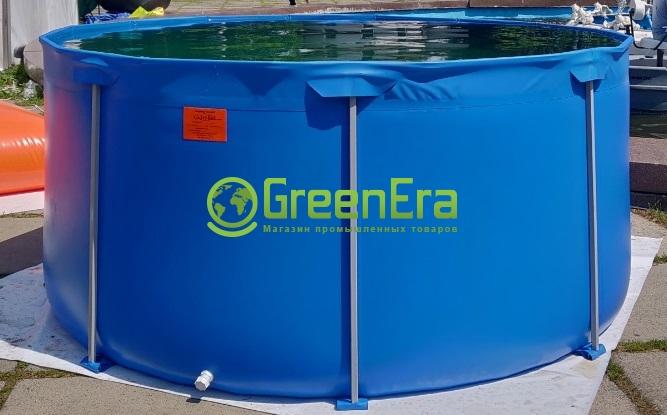 Бассейн для выращивания рыбы на 10000 литров