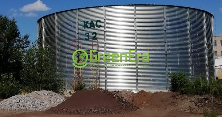 Склады для жидких удобрений на 1500 кубов (1500000 литров)