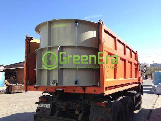 Агро емкость на 9000 литров для перевозки воды и КАС