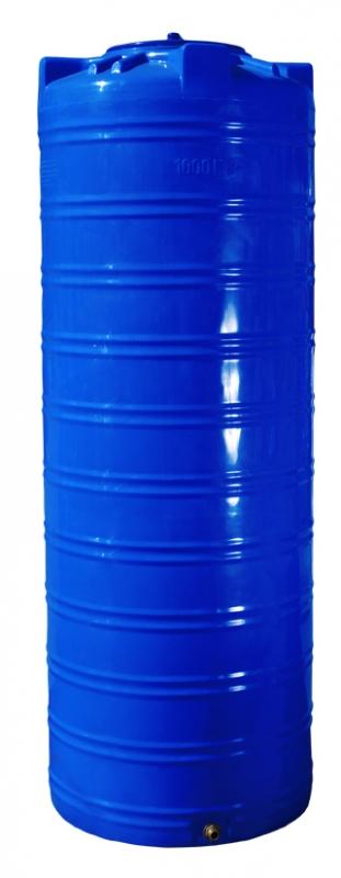 Бочка вертикальная на 1000 литров, Двухслойная