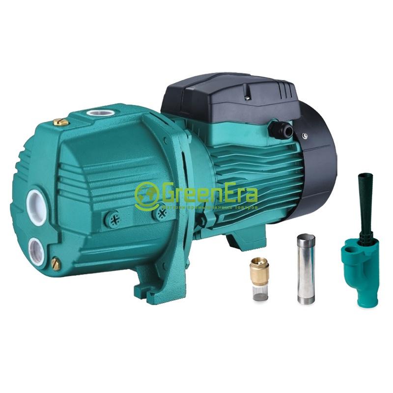 Насос центробежный с внешним эжектором 0.75кВт HSmax 35м Hmax 50м Qmax 30л/мин
