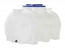 Емкость 250 литров, горизонтальная