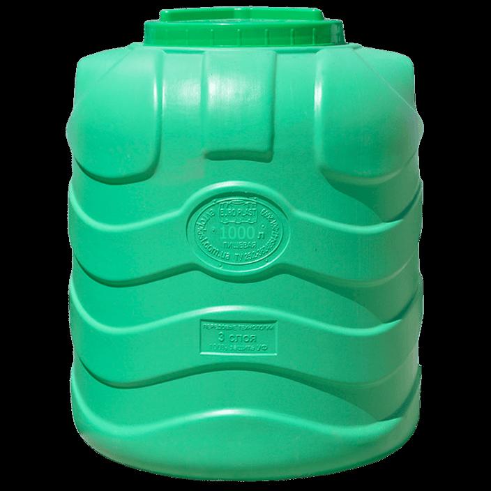 Емкость вертикальная на 1000 литров, Трехслойная