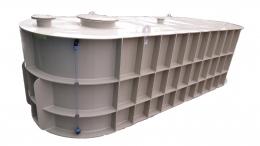 Агро емкость на 12500 литров для перевозки воды и КАС