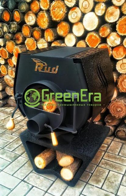 Печь булерьян Rud Pyrotron Кантри 01 с варочной поверхностью без стекла
