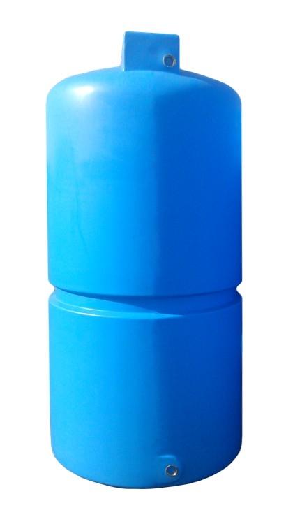 Плоская емкость на 2000 литров, Однослойная