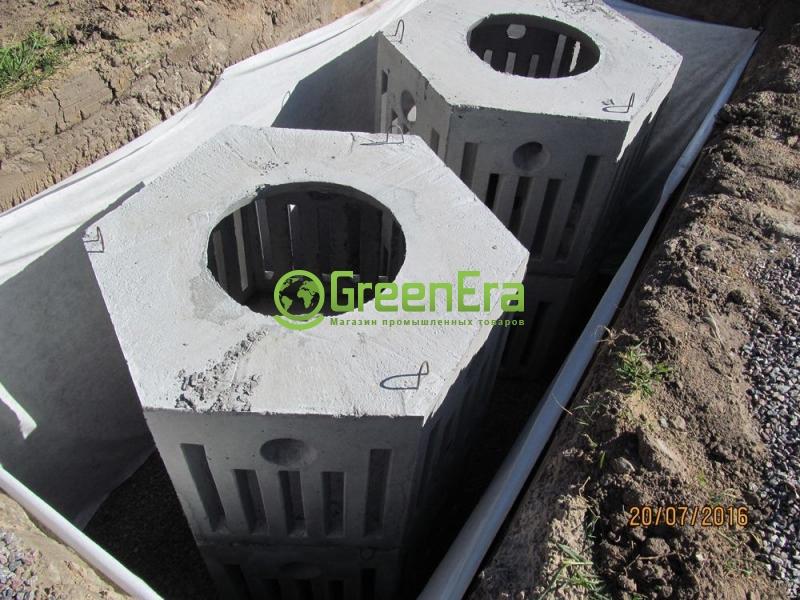 Дренажный бетонный модуль