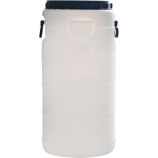 Бидон на 50 литров пластиковый пищевой, с широкой горловиной