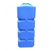 Вертикальная квадратная емкость на 1000 литров, пластиковая