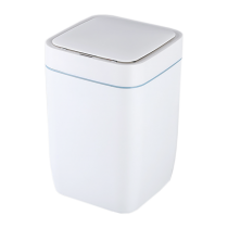 Ведро квадратное, бак для мусора сенсорный 8 литров