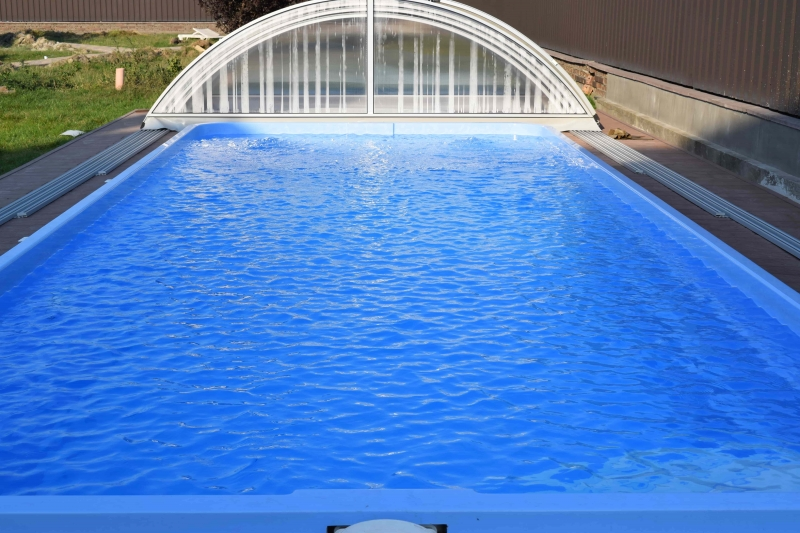 Стекловолоконный бассейн Виктория 10,4 х 4,1 х 1/1,6 (Премиум)