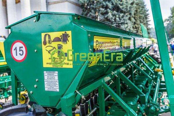Сеялка зерновая Харвест 540 редукторная с пальцевым загортачем