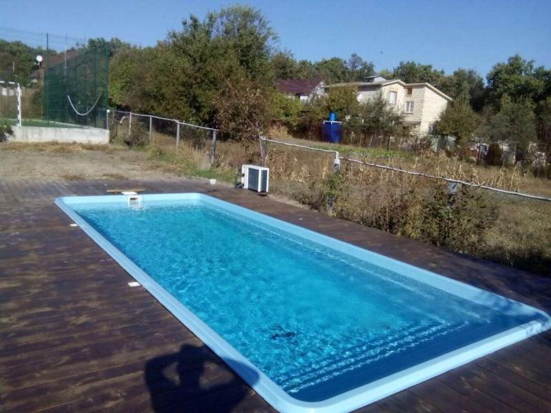 Стекловолоконный бассейн Покровский-2 8,21 х 3,25 х 1,5 (Премиум)