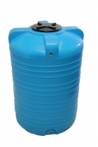 Емкость вертикальная на 1000 литров (бочка 1 м3), пластиковая