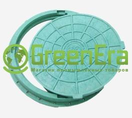 Люк зеленый 660