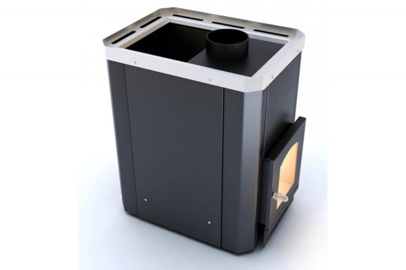 Печь-каменка для бани Классик ПКС-02Ч с выносной топкой