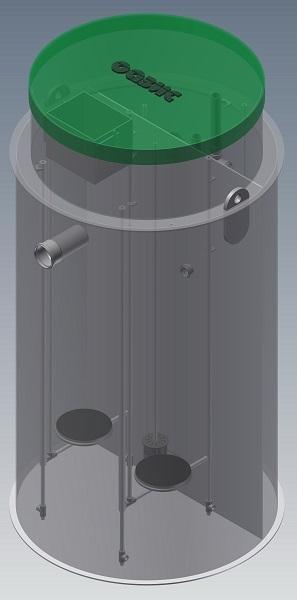 Автономная канализация ОАЗИС-16