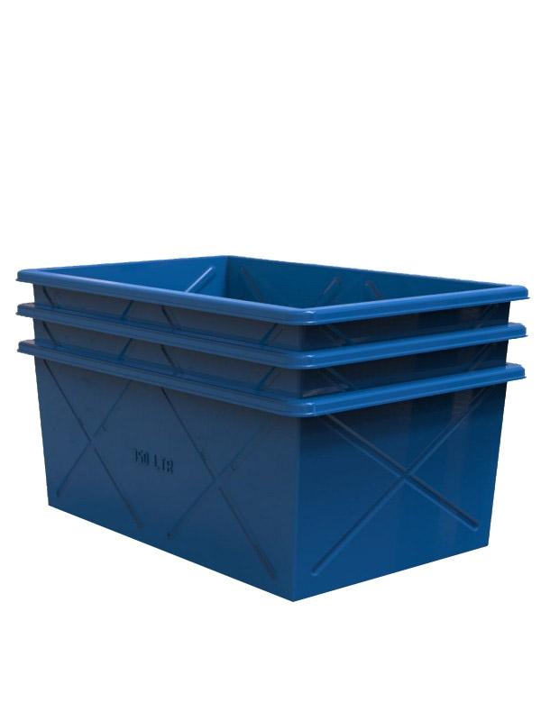 Контейнер пластиковый на 1000 литров промышленный