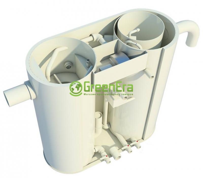 Очистка стоков автомоек УМКА-OIL-2 базовая комплектация