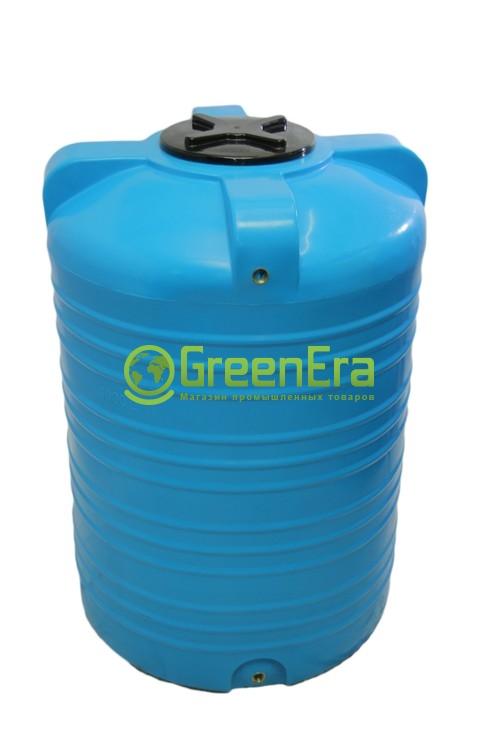 Емкость вертикальная на 2000 литров (бочка 2 м3), пластиковая