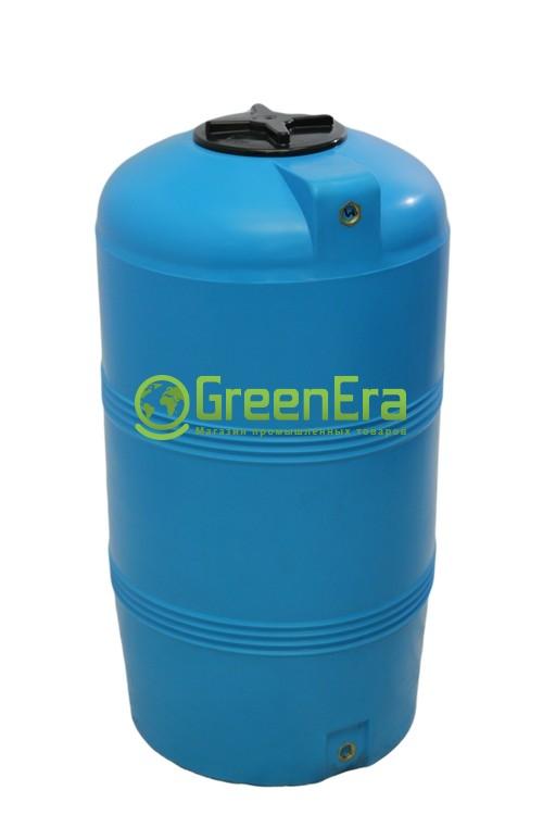 Вертикальная емкость на 250 литров, пластиковая