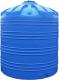 Вертикальная емкость на 10000 литров (бочка 10 м3) пластиковая тара