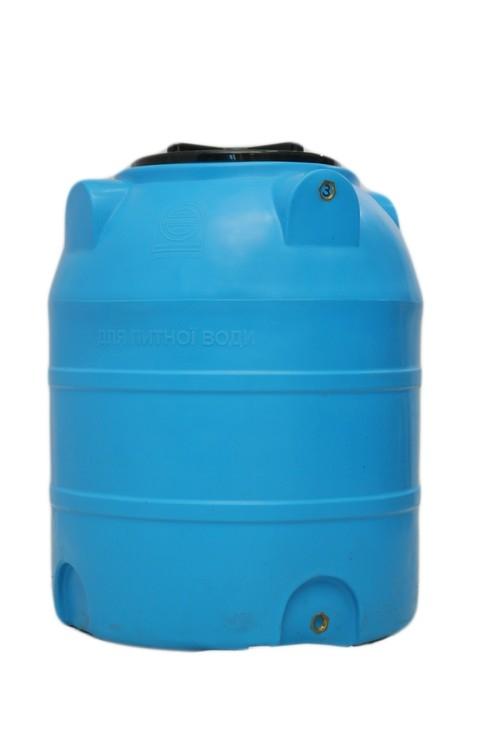 Вертикальная емкость на 300 литров, пластиковая