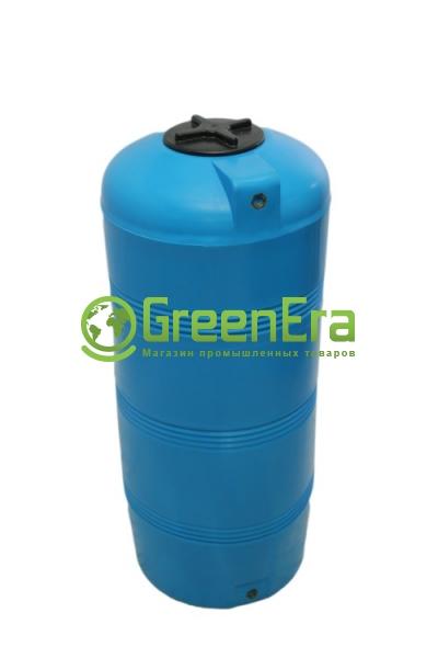 Вертикальная емкость на 320 литров, пластиковая