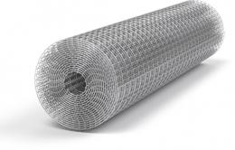 Сетка сварная металлическая Сетка Запад 25х12,5х0,90 мм 1х30 м