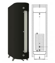 Теплоаккумулятор плоский NEUS ТАП1н (0°, 180°) с утеплителем 800л (с теплообменником)