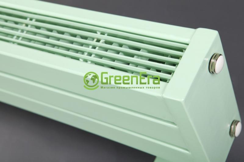 Низкий радиатор EliTerm 22-2-1400 нижнее подключение Базовый цвет