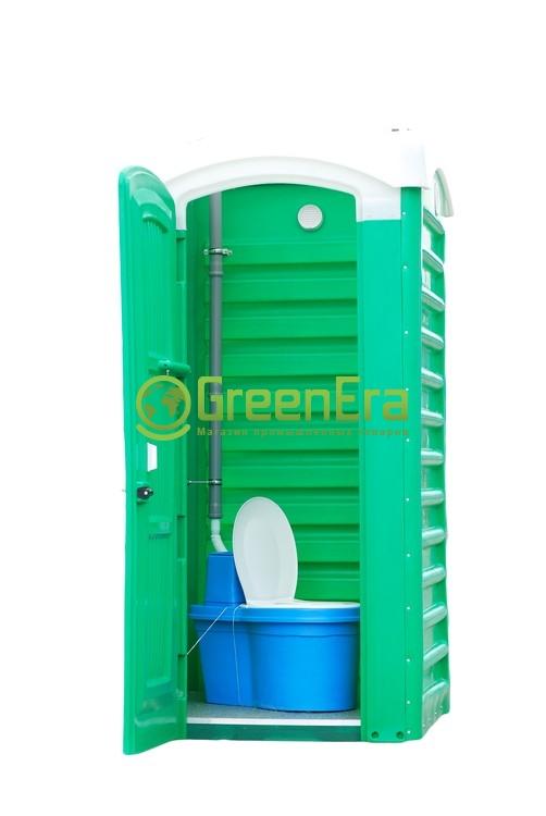 Туалетная кабина дачная (укомплектованная)