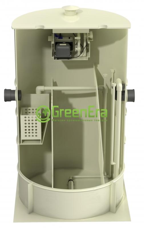 Автономная канализация УМКА-БІО-0,8 (SS)